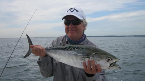 Simon Shaw with a nice F/Albacore, USA Trips