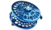 Large Arbor Saltwater Fly Fishing Reel (Blue & Silver)