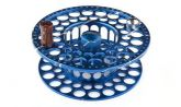 Large Arbor Saltwater Spare Spool (Blue & Silver)